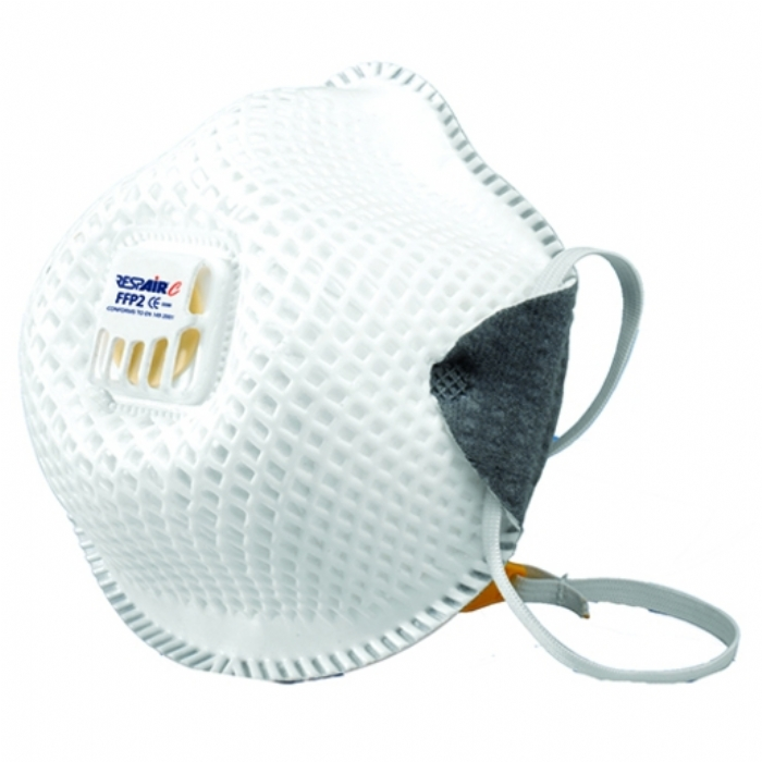 RESPAIR P2V CUPPED DISPOSABLE RESPIRATOR