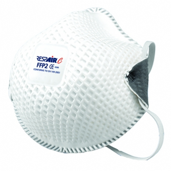 RESPAIR P2 CUPPED DISPOSABLE RESPIRATOR