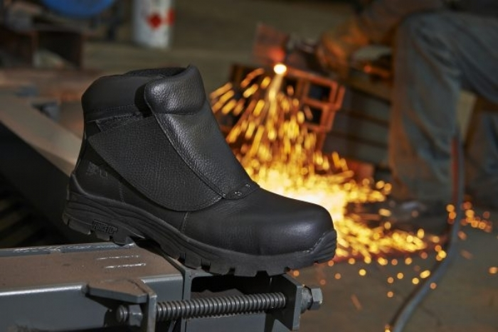 Rock Fall Spark Welding Safety Boot with Midsole