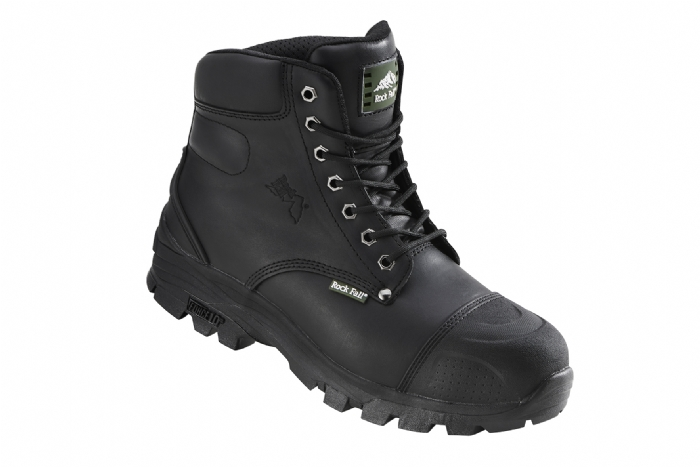 Rock Fall Ebonite Construction Safety Boot Force10 Outsole
