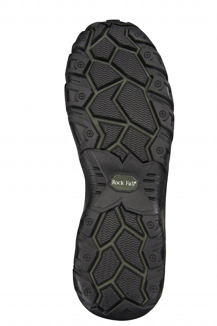 Rockfall Flint Black Non Metallic Safety Boot