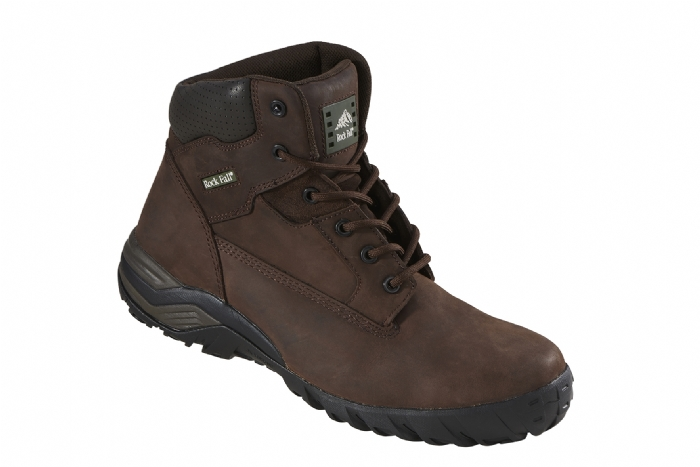 Rockfall Flint Brown Non Metallic Safety Boot