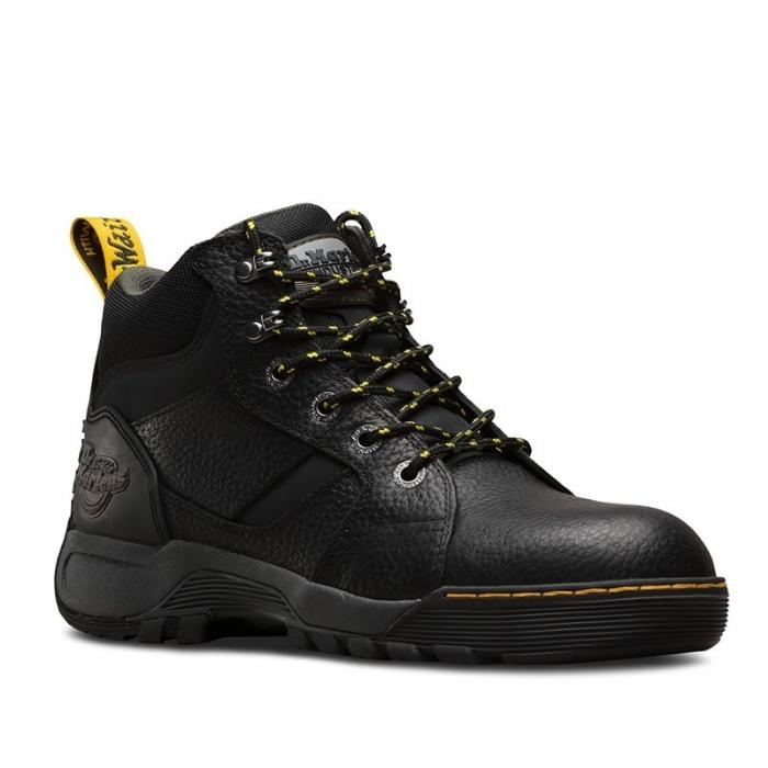 DR MARTENS  Grapple Black Safety Boot