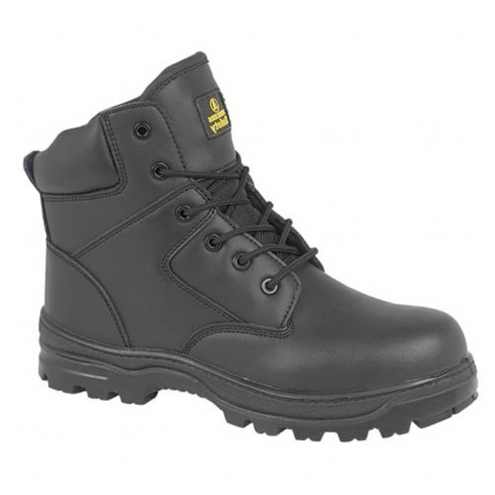 Amblers Black Composite Boot