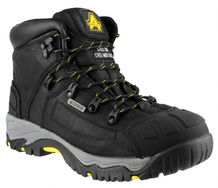 Amblers Steel Waterproof Safety Boots