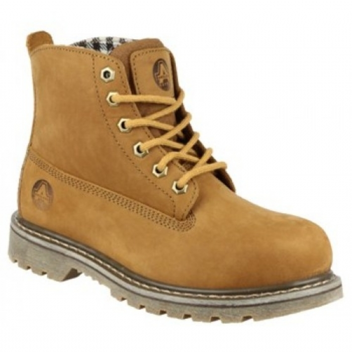 Amblers FS103 Ladies Safety Boots with Steel Toe Caps & Midsole
