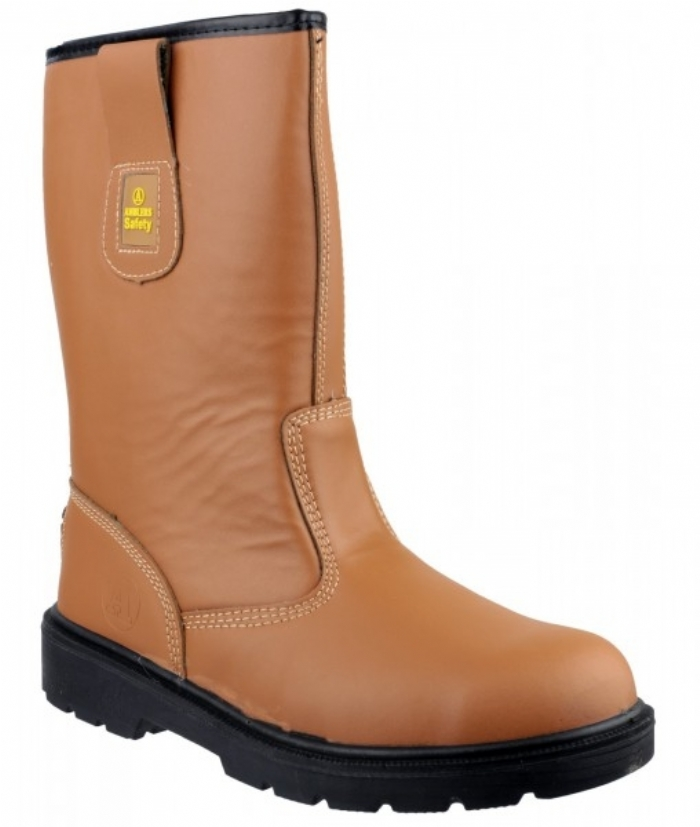 Amblers Lined Rigger Boot