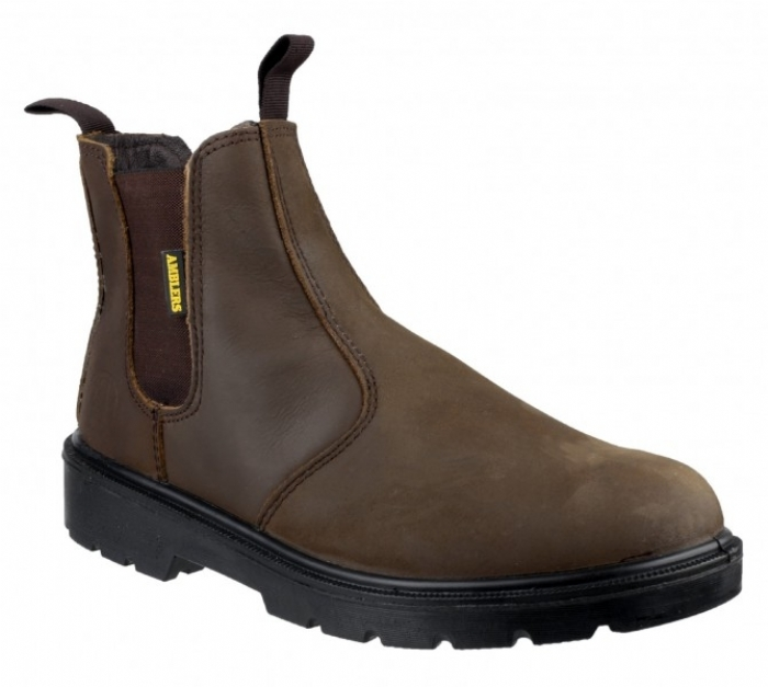 Amblers Steel Pull On Dealer Boot
