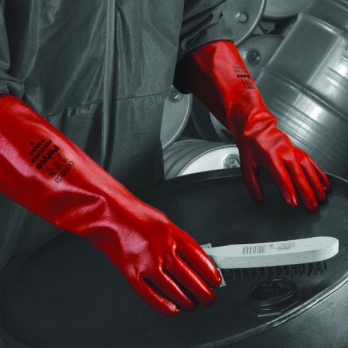 Polychem PVC Heavy Weight Gauntlet