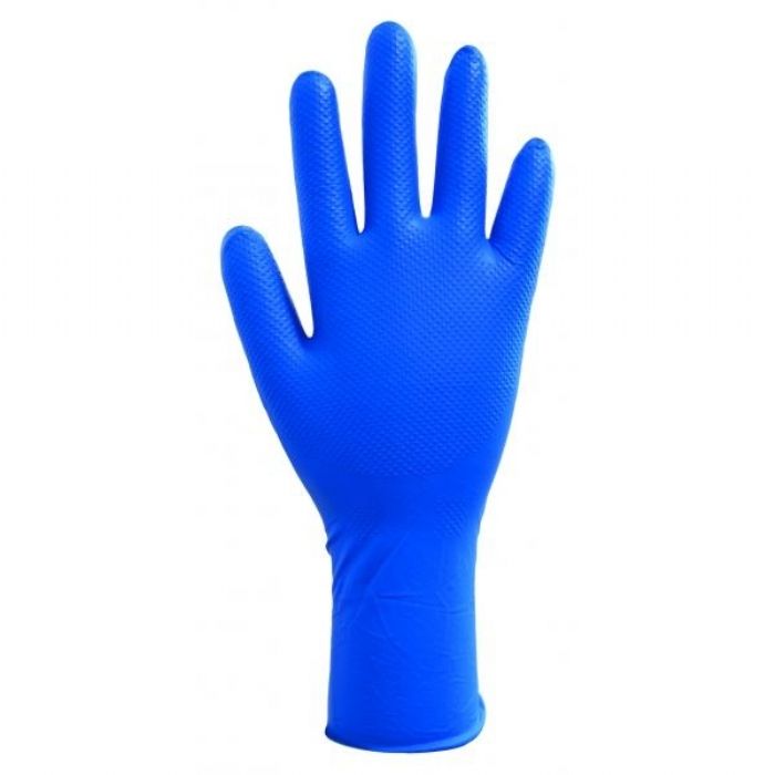 GL300 Finite Blue HD Long Cuff Gloves