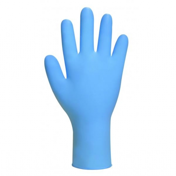GL890 Bodyguards Blue Nitrile Powder Free Exam Gloves