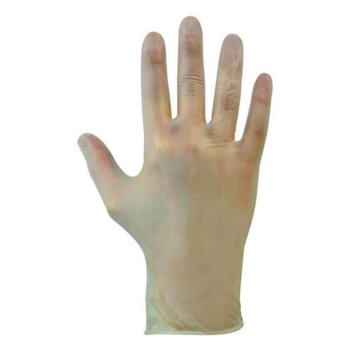 GL621 Bodyguards Clear Vinyl Gloves