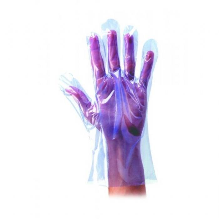 GD51 Blue polythene disposable glove