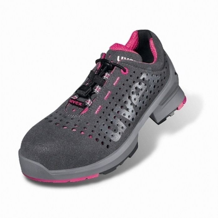 8561/8 Uvex 1 Ladies Safety Perforated Trainer Shoe