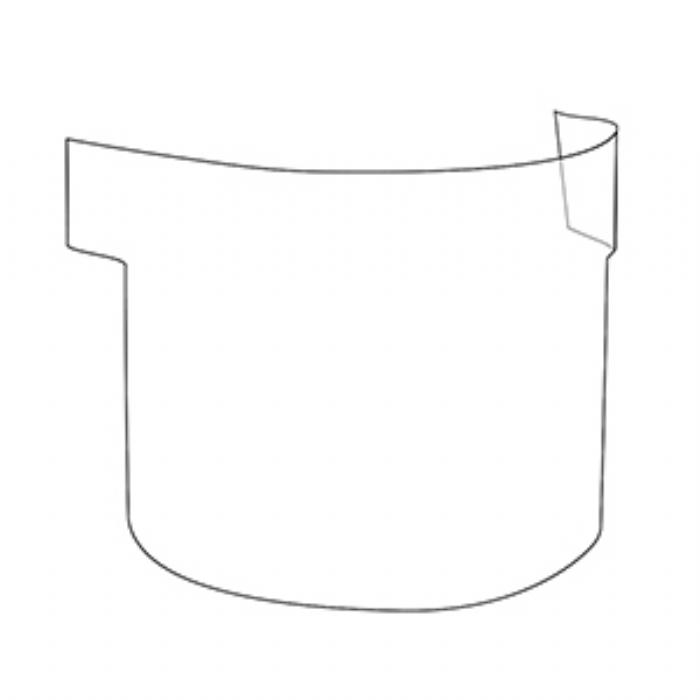 JSP PowerCap Infinity PAPR - Peel off visor protectors (Pack of 10)