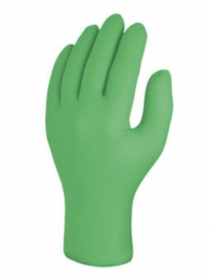 Skytec Alaska Green Nitrile Disposable Glove