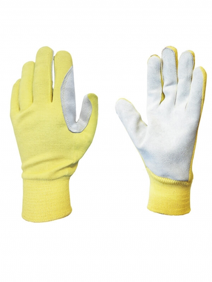 Skytec Triax  Leather Palm Gloves