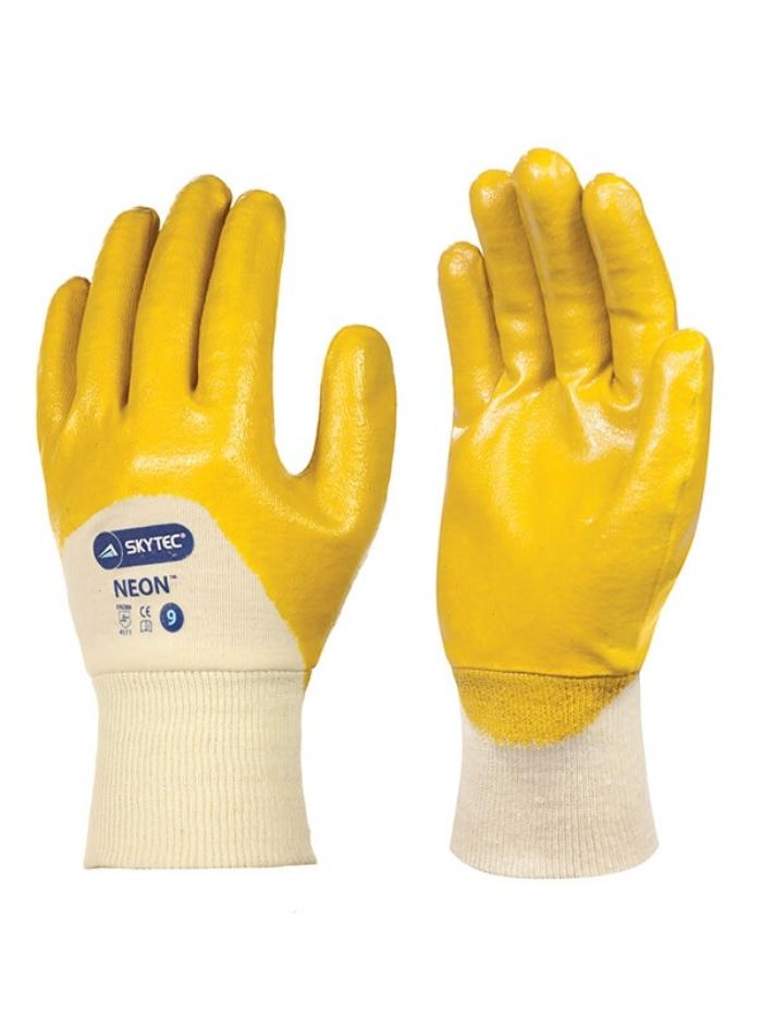 Skytec Neon Nitrile Glove