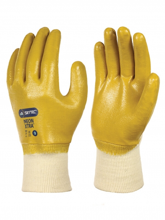 Skytec Neon Xtra Fully Coated Gloves
