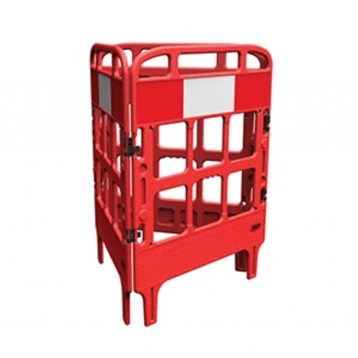 Portagate® 3 Gate Compact Barrier – Red