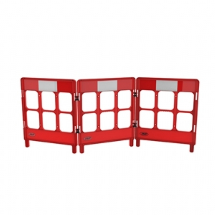 Workgate 3 Gate with Reflectives – Red