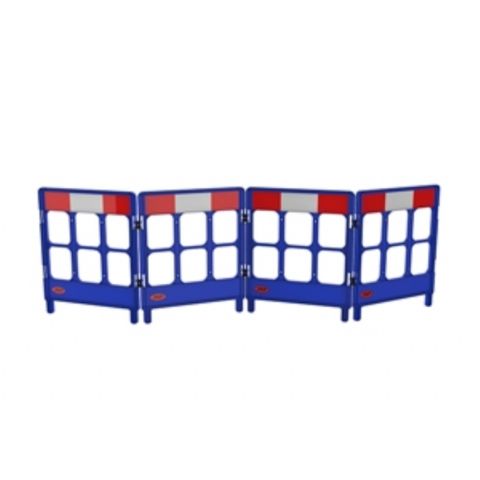 Workgate 4 Gate with Reflectives – Blue