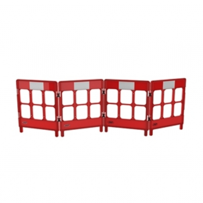 Workgate 4 Gate with Reflectives – Red