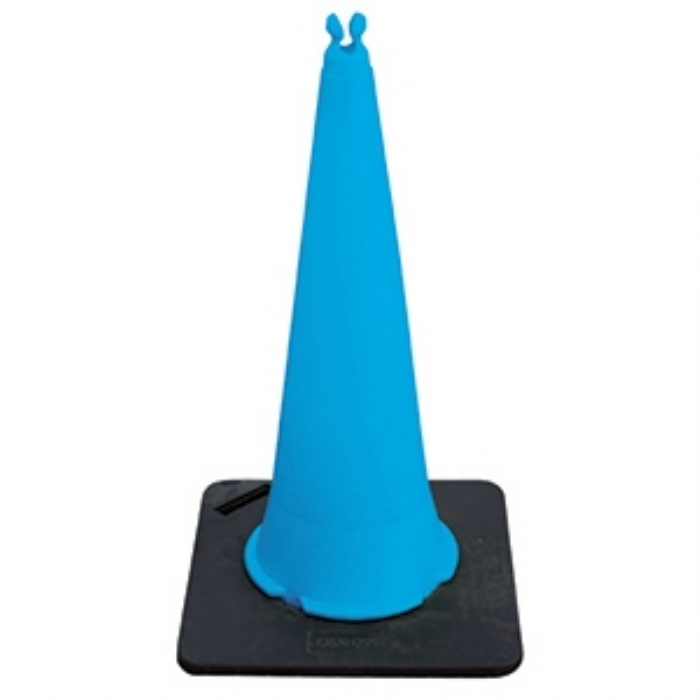 1m Chain Holding Quad Cone – Blue