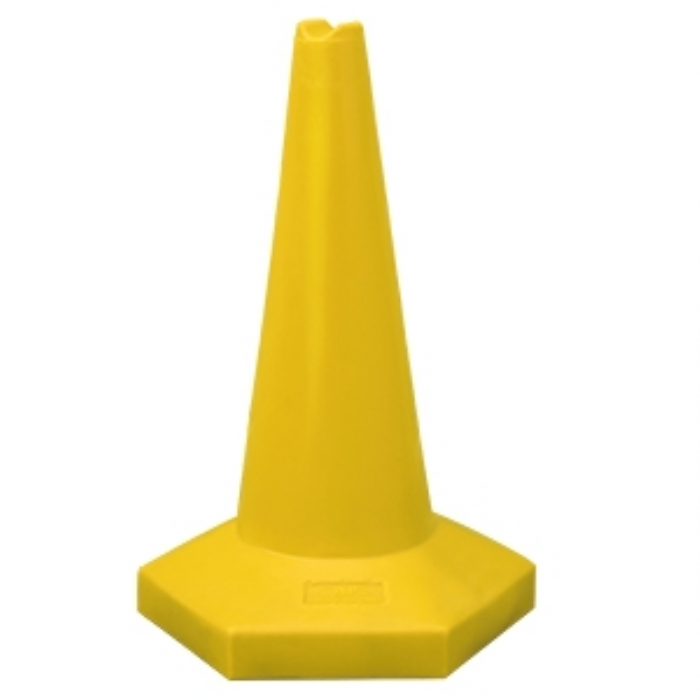 60cm Sand Weighted Sports Cone – Yellow