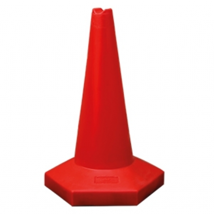 60cm Sand Weighted Sports Cone – Red
