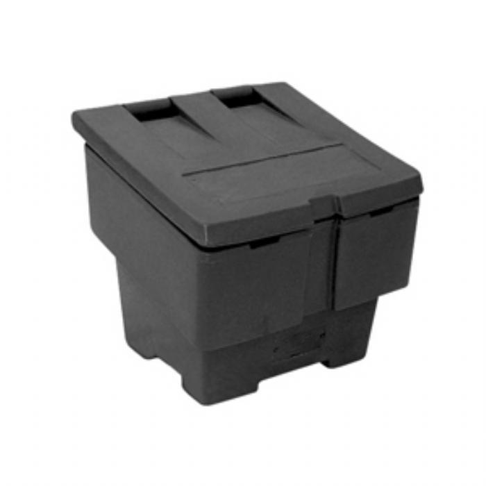 Small 50kg Grit Salt Bin – Black