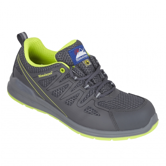 HIMALAYAN Grey Electro ESD Mesh Safety Trainer