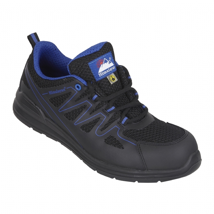 HIMALAYAN Black Electro ESD Mesh Safety Trainer