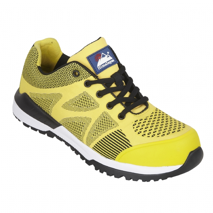 HIMALAYAN Yellow Bounce Mesh Safety Trainer