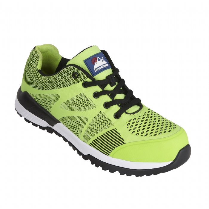 HIMALAYAN Lime Bounce Mesh Safety Trainer