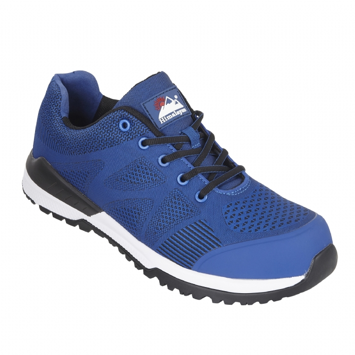 HIMALAYAN Blue Bounce Mesh Safety Trainer