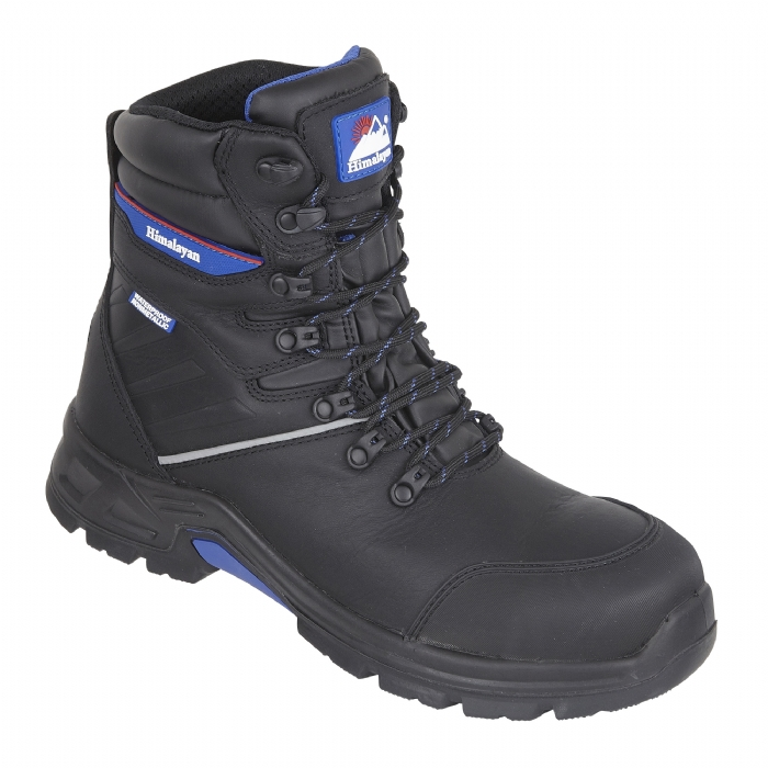 HIMALAYAN Black StormHi Leather Waterproof Safety Boot