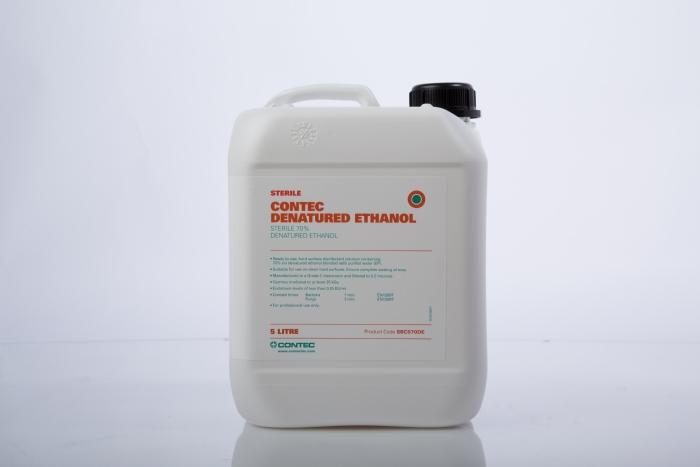 Contec 70% Sterile Denatured Ethanol