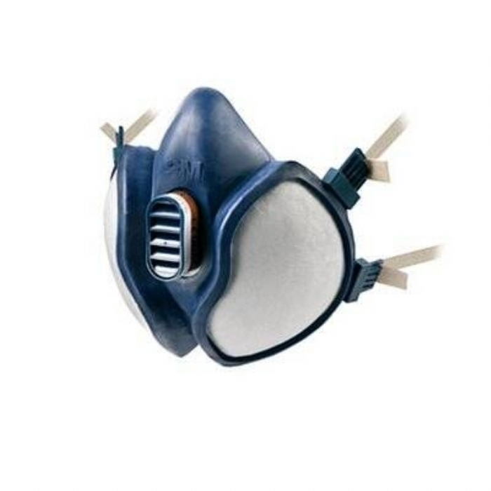 3M 4251 4000 series maintenance free reusable half mask fixed filters A1P2