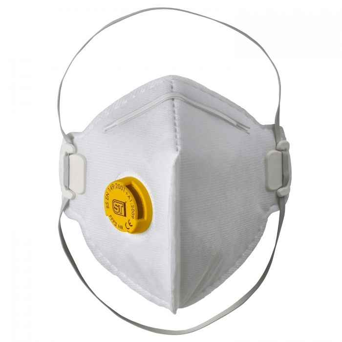 Supertouch FFP3 Valved Flat Pack Respirator
