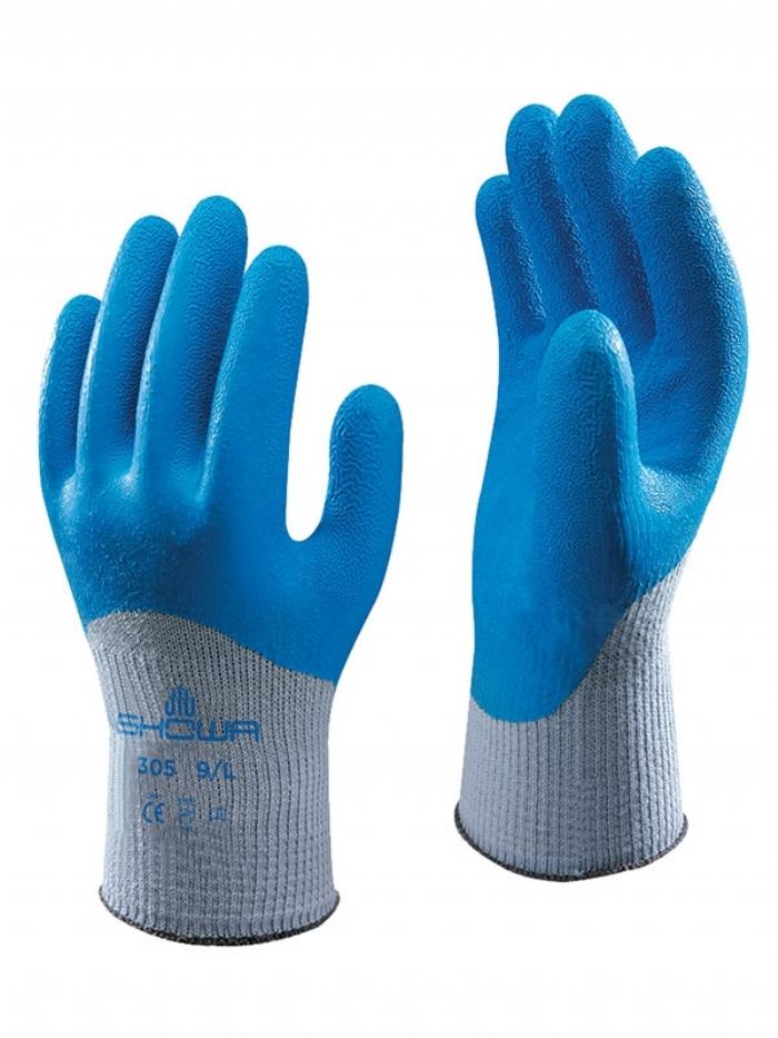 Showa 305 Grip Xtra Latex Gloves