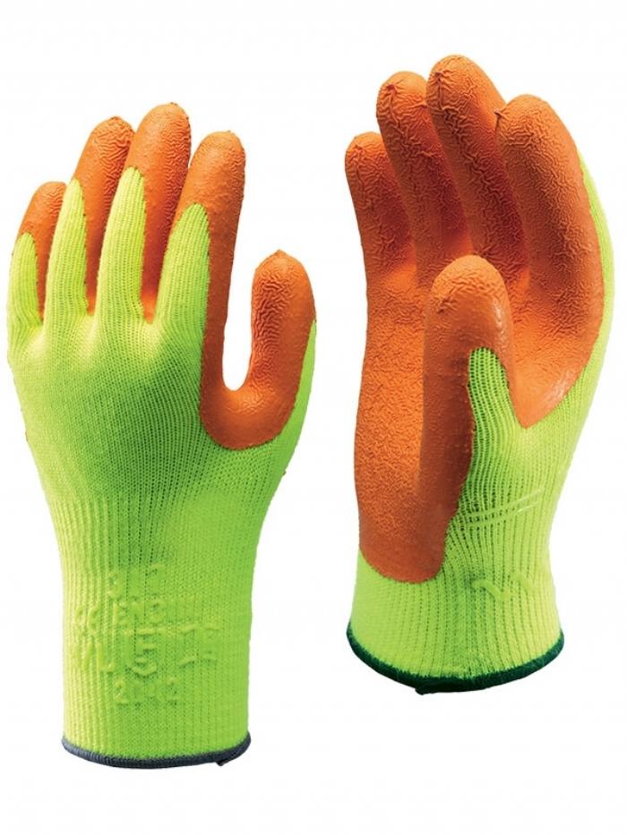 Showa 317 Hi-Viz Grip Gloves