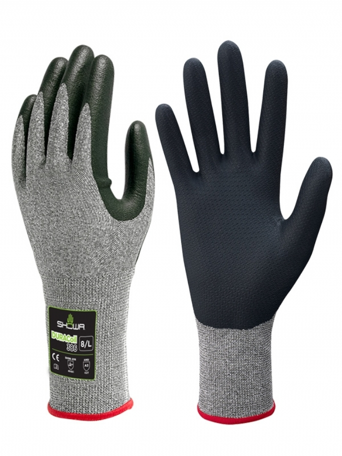 GLOVES SHOWA 386 NITRILE
