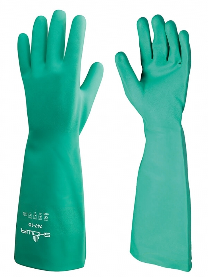 Showa Best 747 Nitri-Solve - Flock Lined Gloves