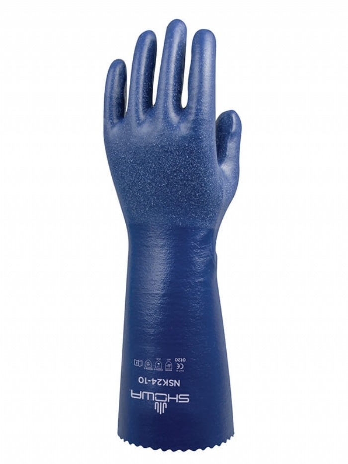 SHOWA NSK24 NITRILE CHEMICAL GLOVE