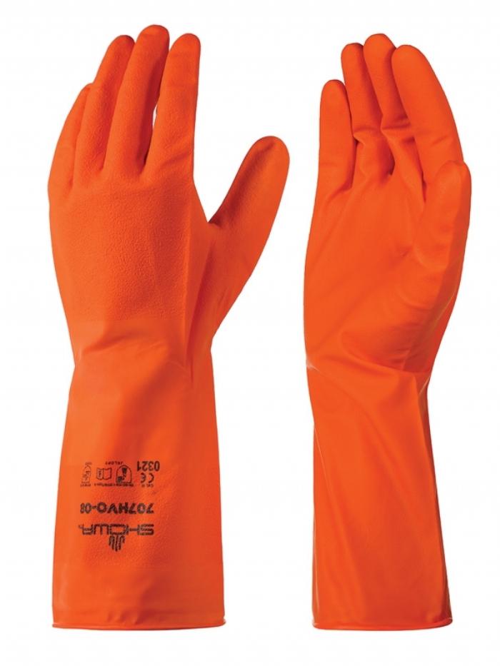 Showa 707HVO Biodegradable Chemical Resistant Gloves