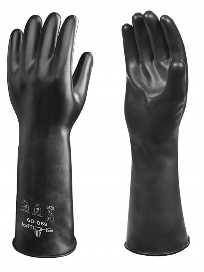 Showa Gloves BST890E-08 Best Viton II 890E Glove