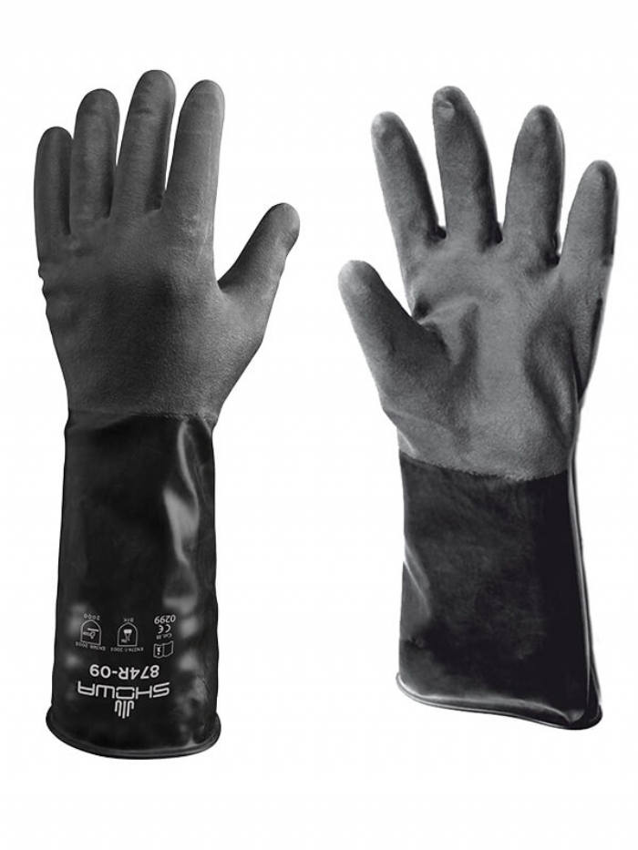 Showa Best 874R Butyl II Chemical Glove