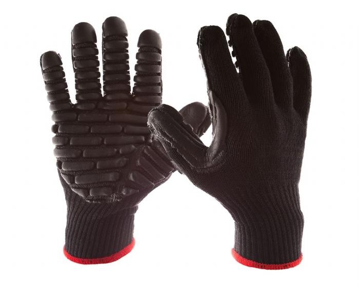 BLACKMAXX PRO Medium Anti-Vibration Gloves