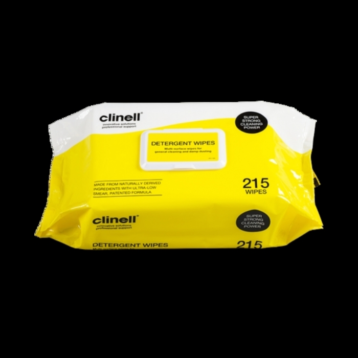 Clinell Detergent Wipes 215